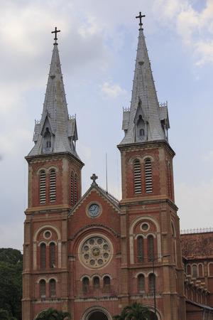notre dame cathedral: notre dame cathedral ho chi minh city
