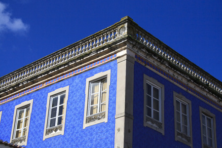 sintra: Sintra blue architecture