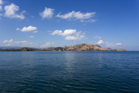 komodo island: Komodo Island view from the boat
