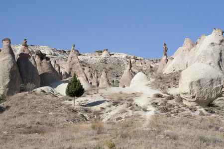 phallic: amazing view of Cappadocia
