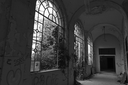 insane insanity: Abandoned Hospital Building called Mombello. The building was abandoned nearly twenty years ago, but never demolished