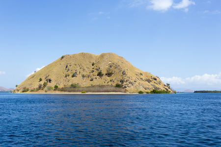 komodo island: Komodo Island view from the boat, Indonesia