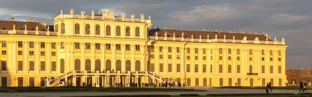 schloss schoenbrunn: Wien, Austria - November 2, 2013: Schloss Schoenbrunn (meaning Schoenbrunn Palace) imperial summer residence