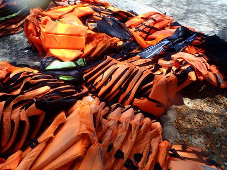 Life vest (jacket) photo Stock Photo
