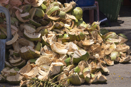 shuck: Coconut waste, excess demand in Asia