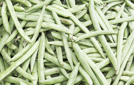 fagiolini: Common green Beans background picture Stock Photo