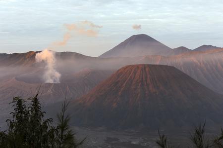 Sunrise at Bromo mountain, Indonesia