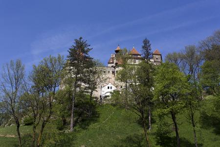 Bran castle in Transilvania during spring, Romania