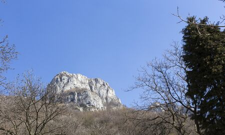 A view of mountain near Canzo, Italy Archivio Fotografico