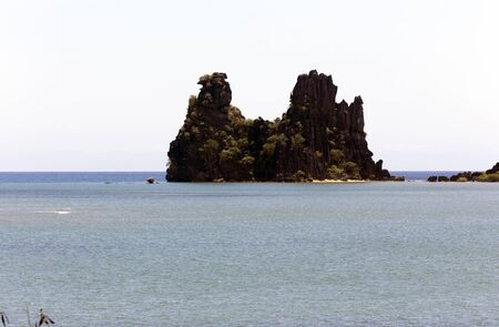 Poule De Hienghene in Hienghene in New Caledonia Stockfoto