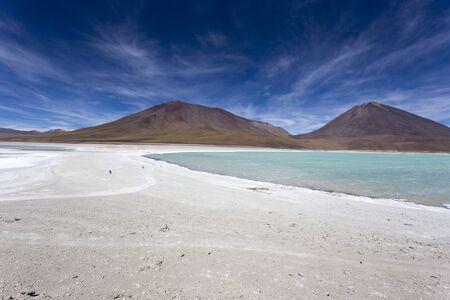 A view of Laguna Blanca in Bolivia