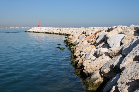 rimini: An image of the port of Rimini.