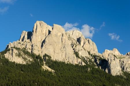 fassa: A close up of Peak 12 from Vigo di Fassa
