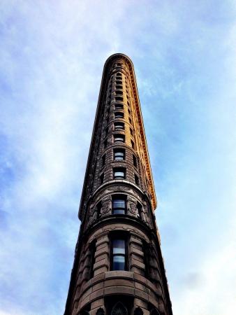 sky scraper: Flatiron sky scraper view in NYC