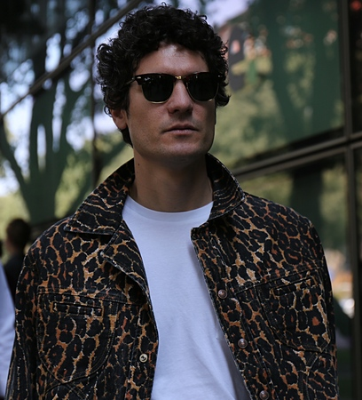 MILAN- 17 June 2017 Alvaro de Juan on the street during the Milan Fashion Week Editorial