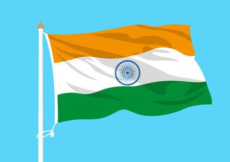 India flag waving