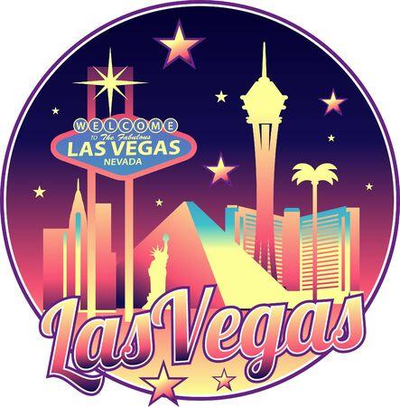 Las Vegas Nevada USA Skyline