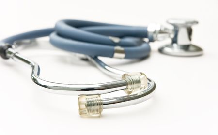 auscultation: stethoscope is an acoustic medical device for auscultation
