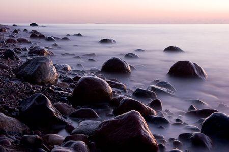 Mer et pierres