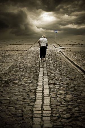 longing: She is going your way. Lost time is never found again.