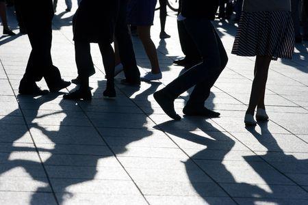 shadows dancing on the floor
