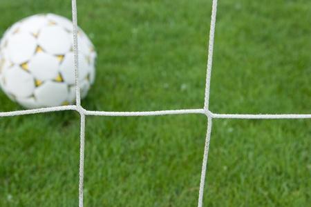 score a goal Stock Photo - 8556240