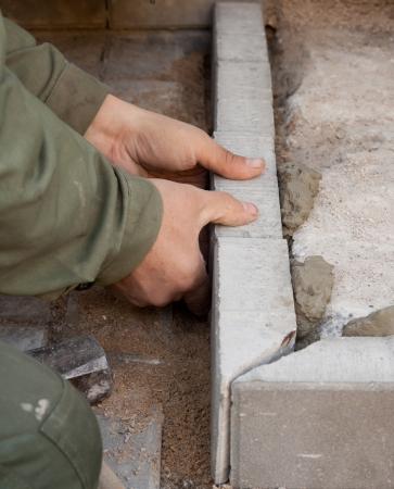 The job of a bricklayer requires skill and experience