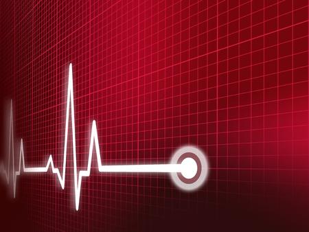 cardiogramme Banque d'images