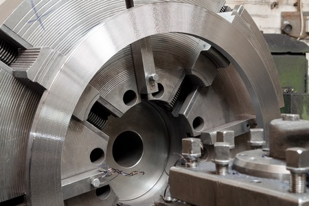 Grinder. Metal industrial machines and tools Stock Photo
