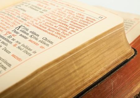 Book of Catholic Church liturgy Stock Photo - 11845762