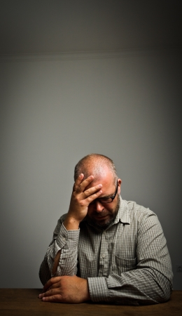 Grief  Expressions, feelings and moods  Man in thoughts