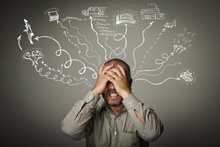 不満の表現、感情や気分の人生の情熱