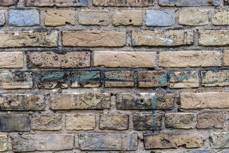 Old brick wall - concept image. Wall as background. Stockfoto