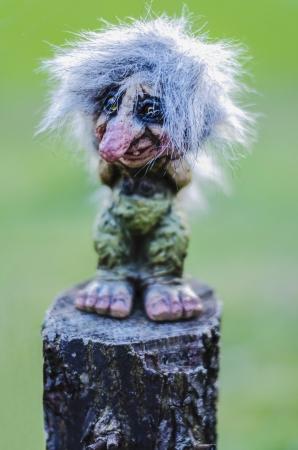 Der Troll Standard-Bild - 18713347