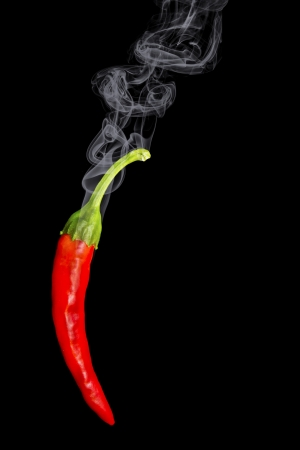 hot peppers: Red Hot Chili Pepper Stock Photo