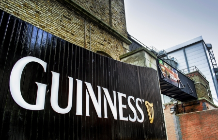 north gate: Guinness Storehouse