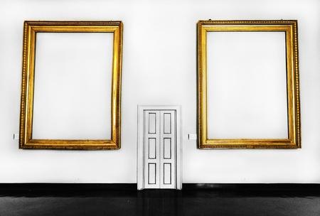 refelction: Empty Art Stock Photo