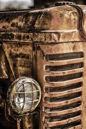 Alte Traktoren Standard-Bild - 19138549