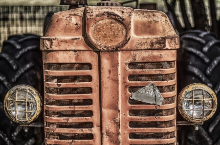 Old Tractor photo
