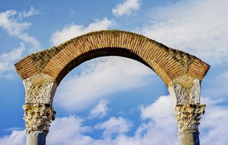 archtecture: Heaven s Door Stock Photo