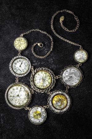 Vintage-Uhren Standard-Bild - 21526825