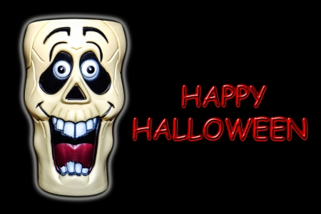 devilish: Happy Halloween Illustration