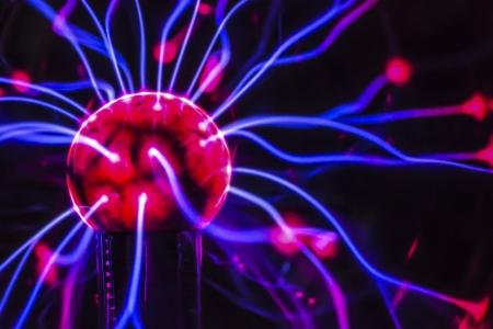 Plasma Macro Standard-Bild