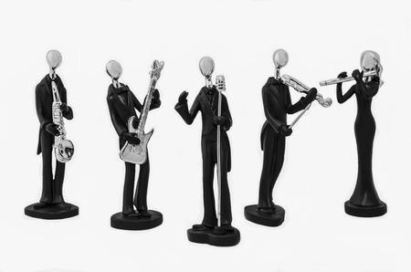 chanteur opéra: Musique bande Statuettes
