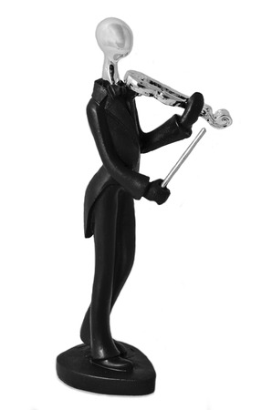 Violin Player Statuette photo