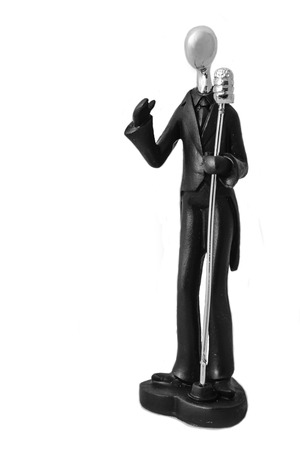 Singer Statuette photo