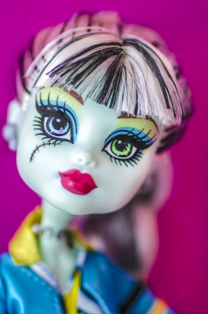 ゴス人形 写真素材