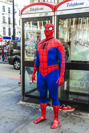 spiderman: Spider-Man in London