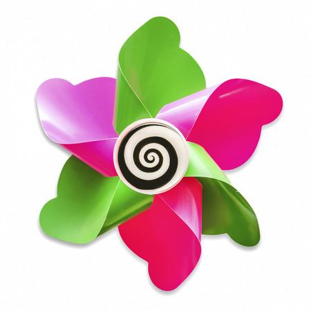 fuchsia flower: Psychedelic Windmill