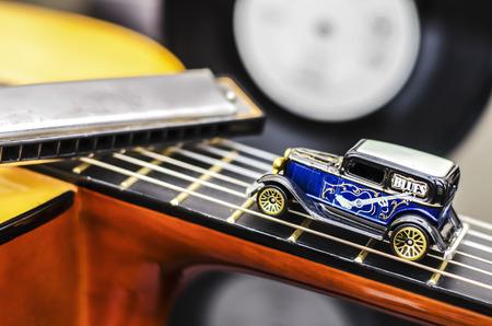 Blues Auto Standard-Bild - 29307914